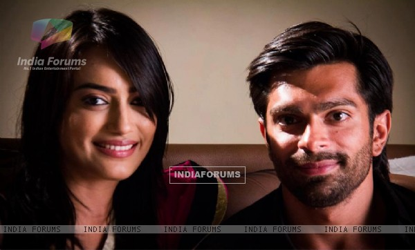 karan Singh Grover and Surbhi Jyoti
