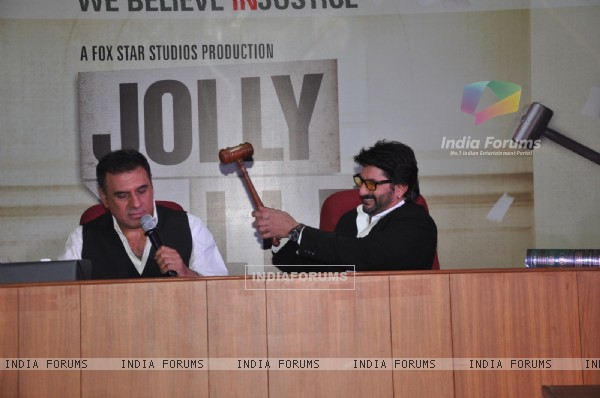 Film Jolly Llb Promotion at Law Collage Bandra