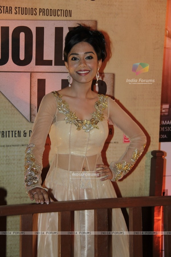 Amrita Rao at Premiere of movie Jolly LLB