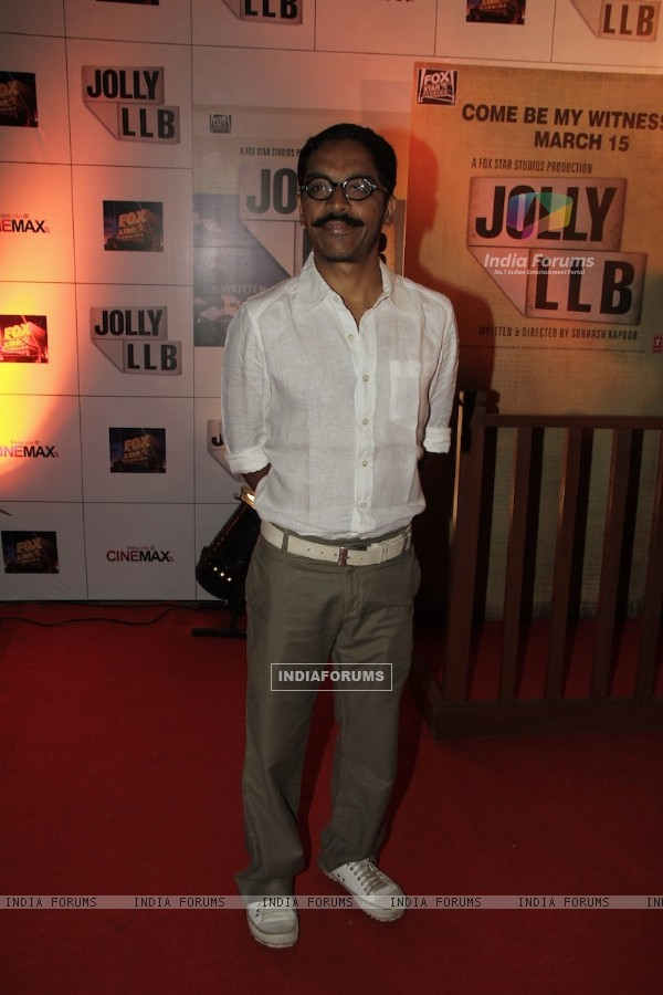 Vrajesh Hirjee at Premiere of movie Jolly LLB