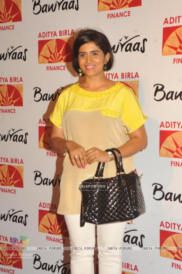 Sonali Kulkarni at Bawraas an evening of Laughter