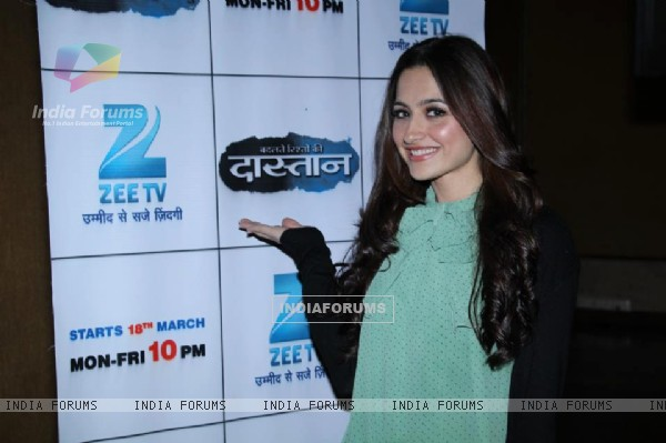 Sanjeeda Shaikh at the launch of Zee TV's show Badalte Rishton Ki Dastaan