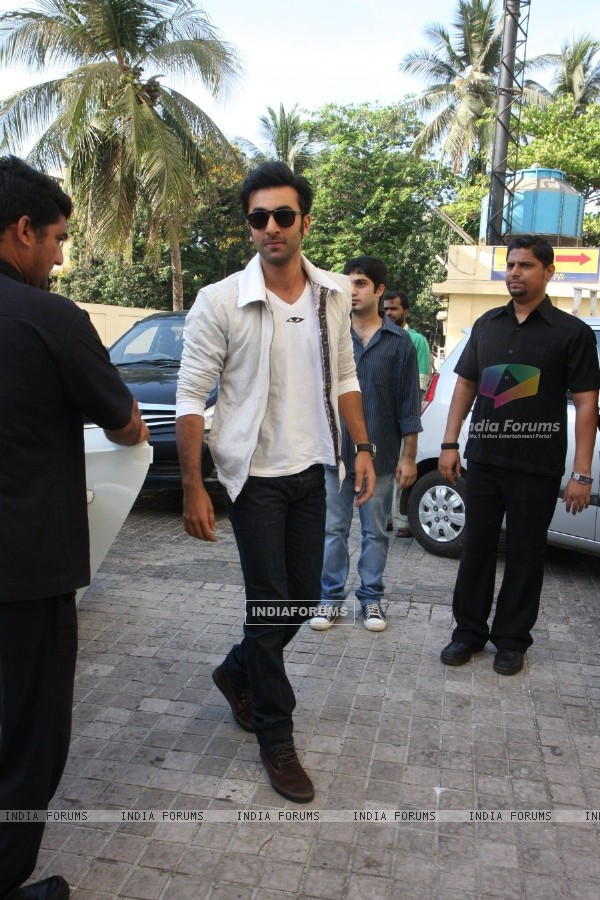 Ranbir Kapoor at Film Yeh Jawaani Hai Deewani first look launch