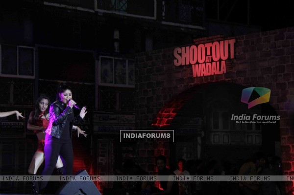 Sunidhi Chauhan at Film Shootout at Wadala Music Launch