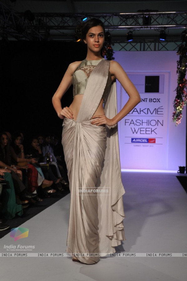 Sonaakshi Raaj showcases her collection From Eden, With Love on day 2