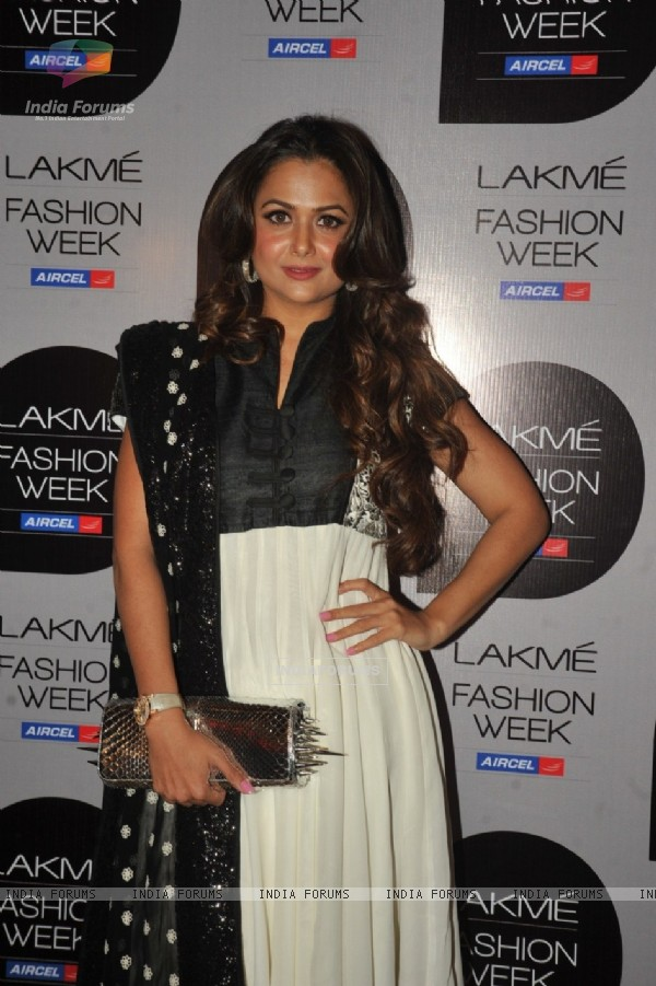 Bollywood Celebs snapped on Day 4 of Lakme Fashion Week Summer 2013