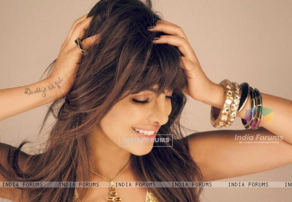 Priyanka Chopra's photoshoot