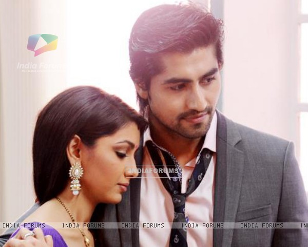 Harshad chopda with Sriti Jha