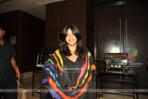 Ekta Kapoor at Launch of Ek Thi Daayan's book Daayan