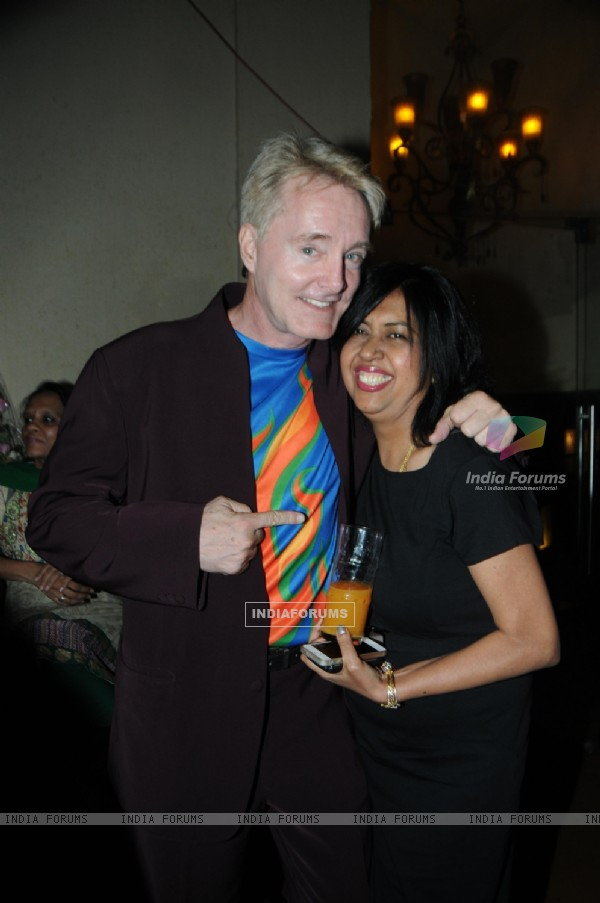 Gary Richardson & Swati Loomba at Rohhit Verma's surprise Birthday party for Sister Swati Loomba