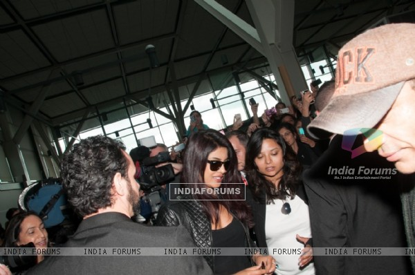 Priyanka Chopra leave for Toifa