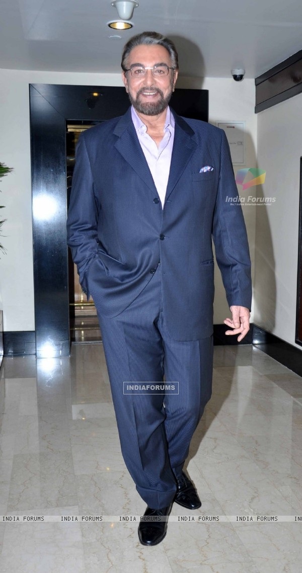 Kabir Bedi at Standard Chartered Charity Awards Night 2013