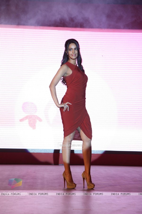 Mallika Sherawat at press meet of her new TV Show Mere Khayalon Ki Mallika