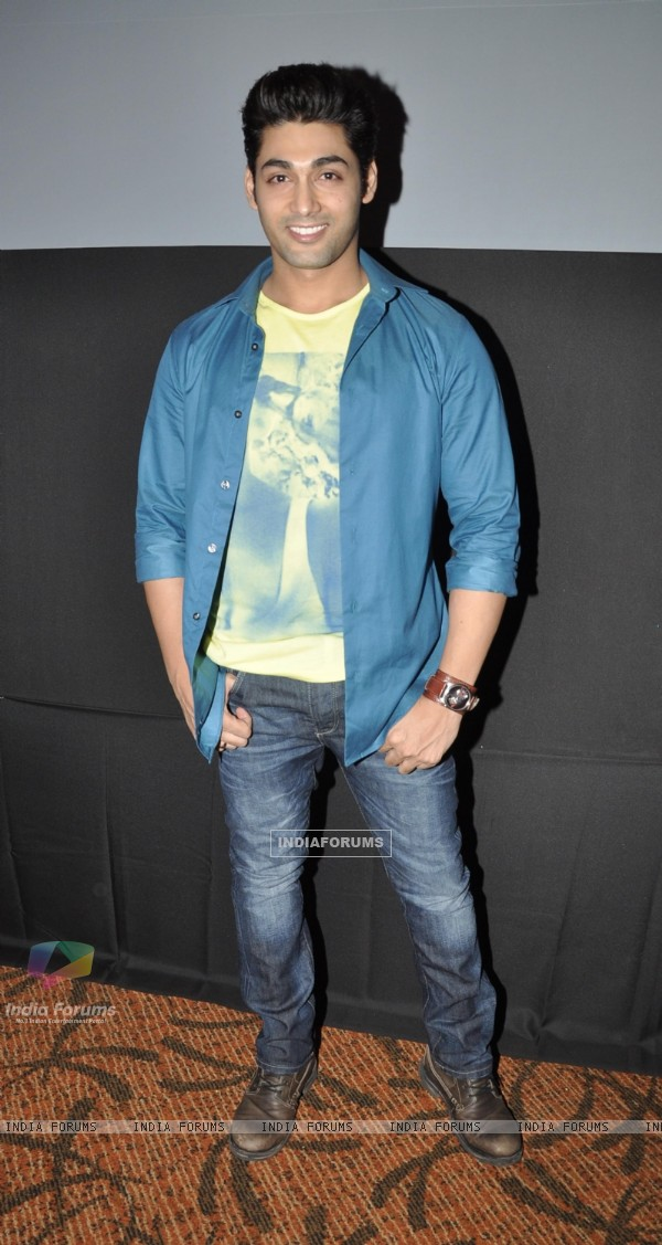 Ruslaan Mumtaz at Music Launch of film I Dont Luv U