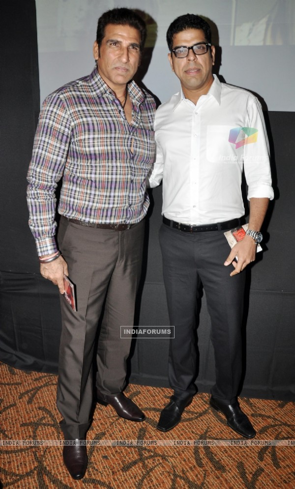 Mukesh Rishi and Murli Sharma at Music Launch of film I Dont Luv U