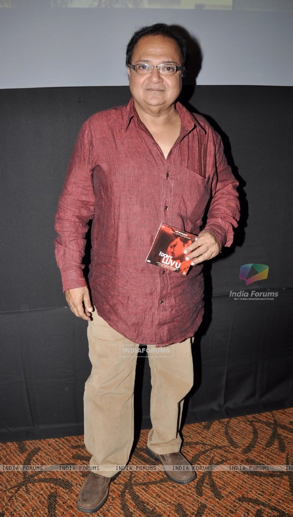 Rakesh Bedi at Music Launch of film I Dont Luv U