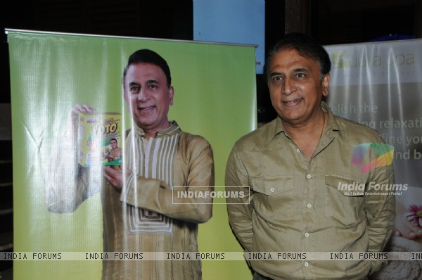 Sunil Gavaskar At Launch Of POTO Potato Flakes