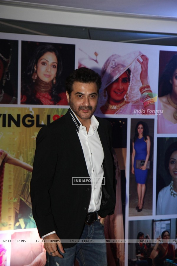 Sanjay Kapoor at Sahara Pariwar Bash For Padma Shri Sridevi
