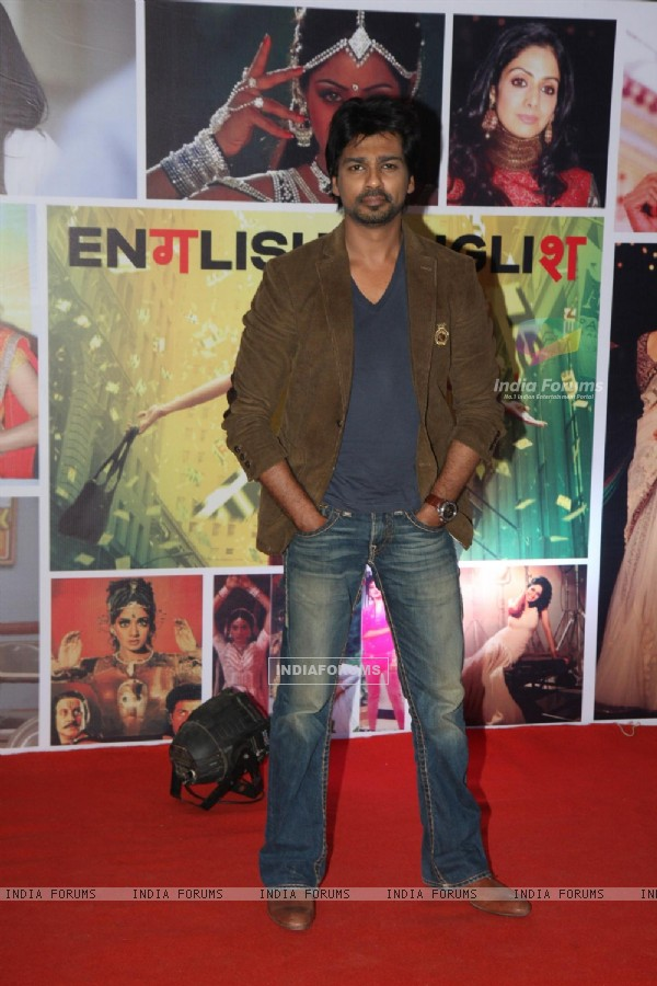 Nikhil Dwivedi at Sahara Pariwar Bash For Padma Shri Sridevi