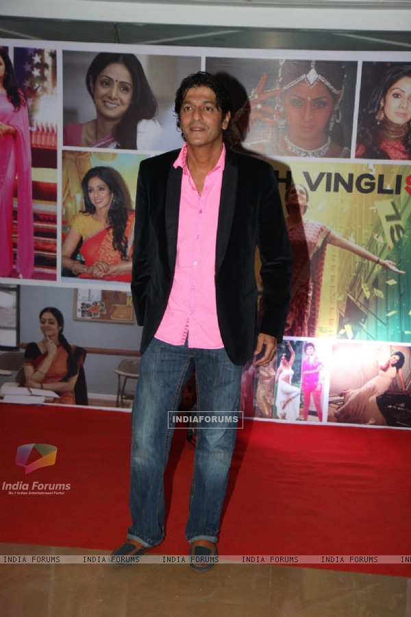 Chunky Pandey at Sahara Pariwar Bash For Padma Shri Sridevi