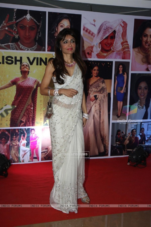 Queenie Dhody at Sahara Pariwar Bash For Padma Shri Sridevi