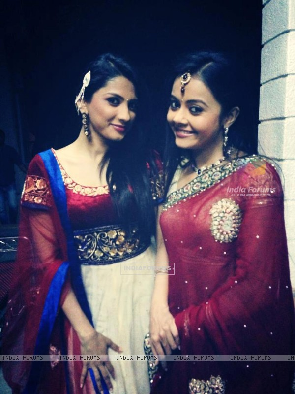 Rucha Hasabnis and Devoleena Bhattacharjee