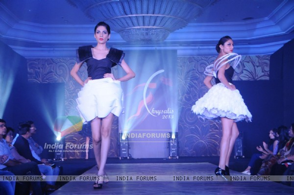Chrysalis fashion show at The Leela
