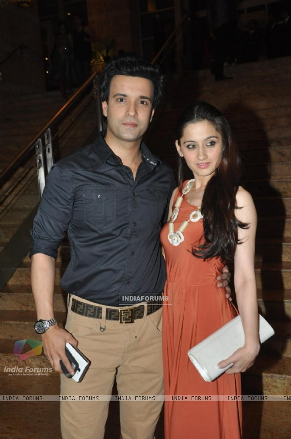 Aamir Ali and Sanjeeda Sheikh at New News Channel Launch Marathi Jai Maharashtra