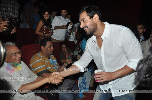 John Abraham at Film Shoot Out at Wadala screening