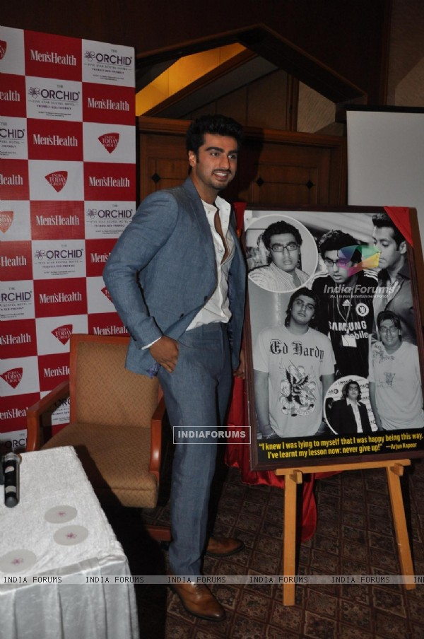Arjun Kapoor launch Men's Health Magazine