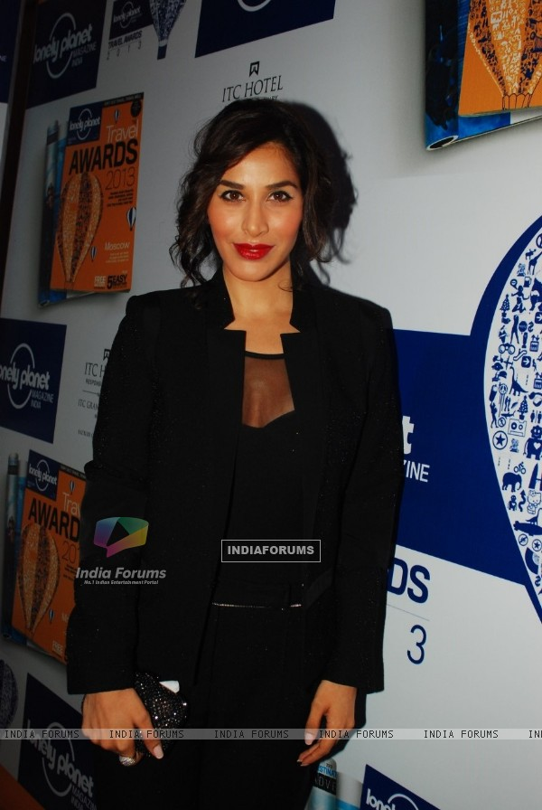 Sophie Choudry at Lonely Planet Magazine India Travel Awards 2013