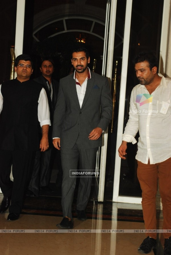 John Abraham at Lonely Planet Magazine India Travel Awards 2013