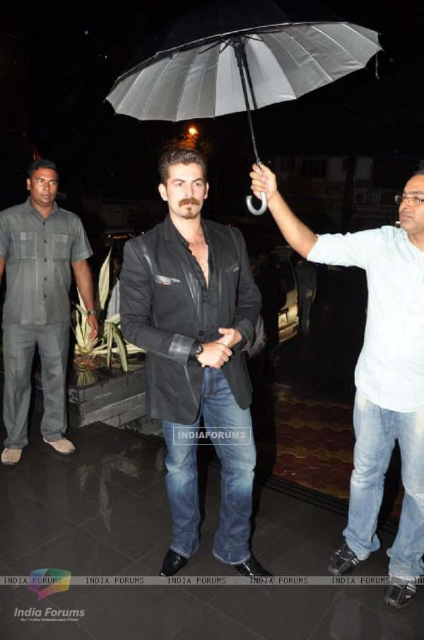 Neil Nitin Mukesh at Amisha Patel Birthday Party and Film Shortcut Romeo promotion