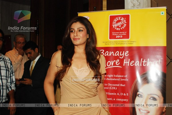 Raveena Tandon announced brand ambassador for Riso Rice Bran Oil