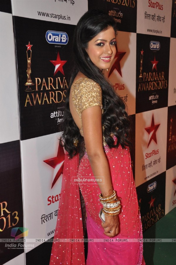 Ishita Dutta at Star Parivaar Awards 2013