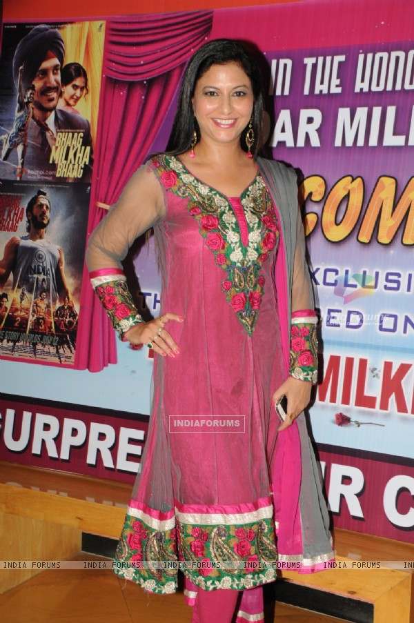 Gurpreet kaur chadha organises the screening of Bhaag Milkha Bhaag