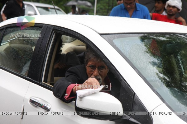 Amitabh Bachchan shoots for Kalyan Jewellers Ad film