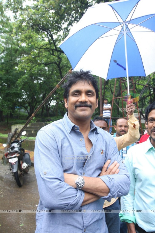 Nagarjuna Akkineni shoots for Kalyan Jewellers Ad film