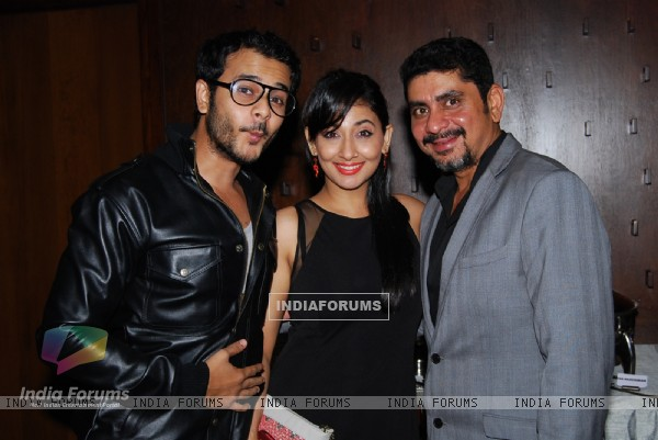 Jai Soni, Shruti Ulfat and Rajan Shahi at Producer Rajan Shahi's Bash