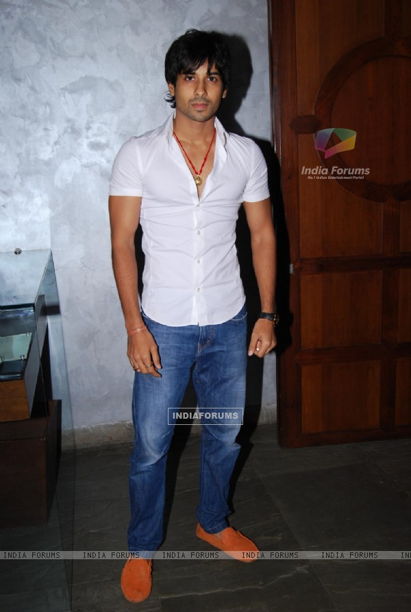 Kunal Verma at Producer Rajan Shahi's Bash