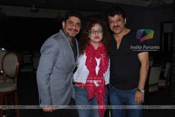 Rajan Shahi, Vandana Sajnani and Rajesh Khattar at Producer Rajan Shahi's Bash
