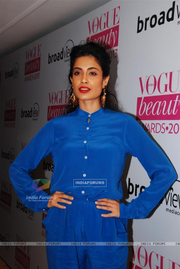 Sarah Jane Dias at Vogue Beauty Awards 2013