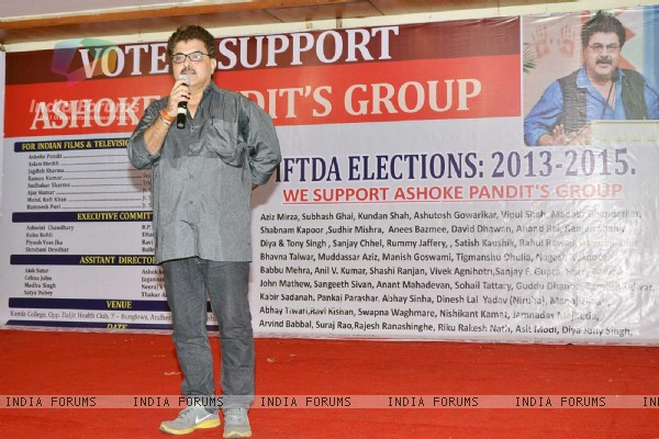 Indian Films and Television Directors Association Election campaign