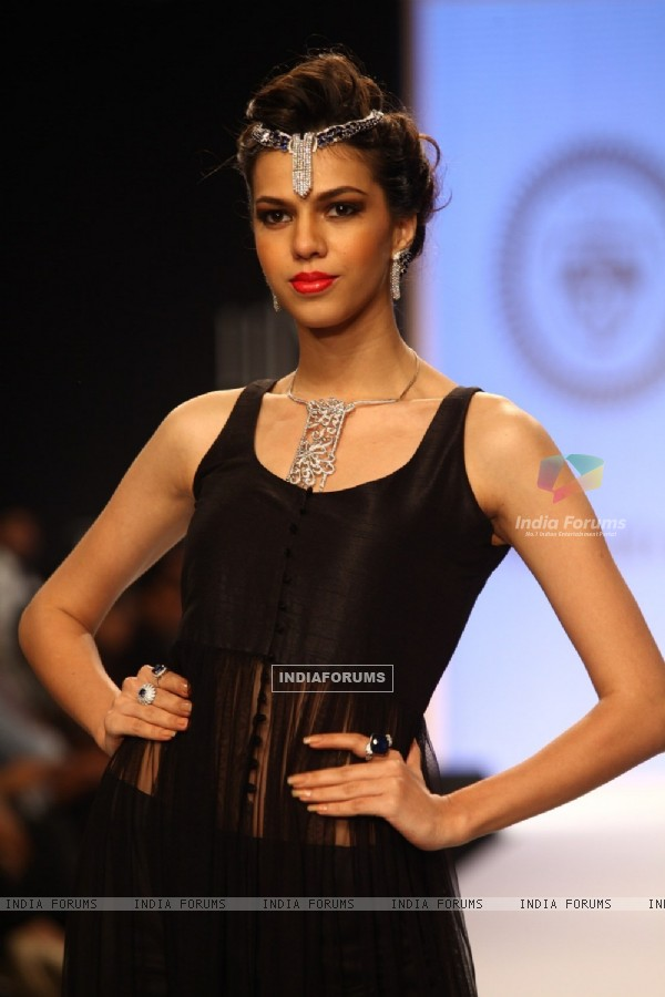 Gia show on Day 2 at IIJW 2013