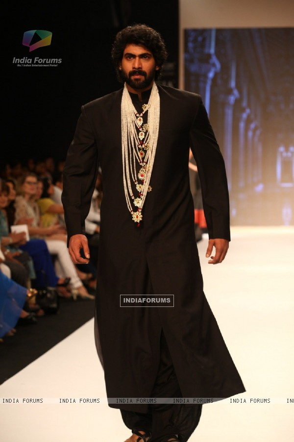 Rana Daggubati at Moni Agarwal show at IIJW 2013