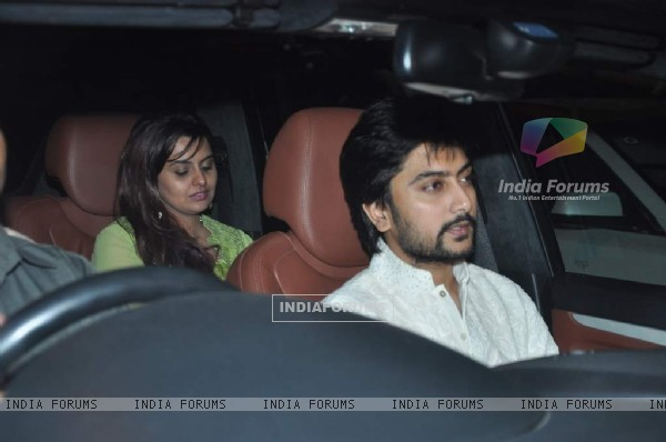 Honey Bhagnani and Dheeraj Deshmukh were at Shahrukh Khan's Grand Eid Party