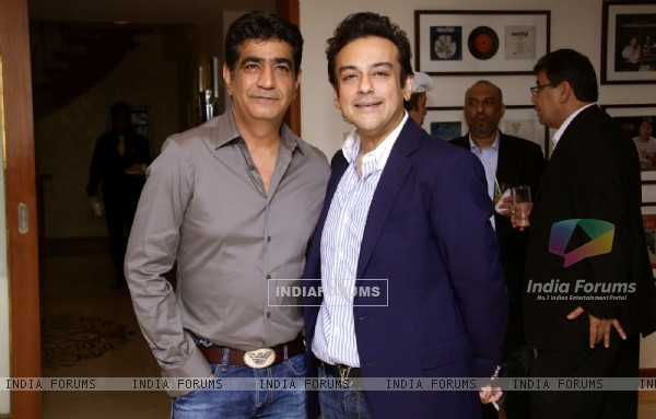 Kishan Kumar and Adnan Sami Hosts A Party At Home