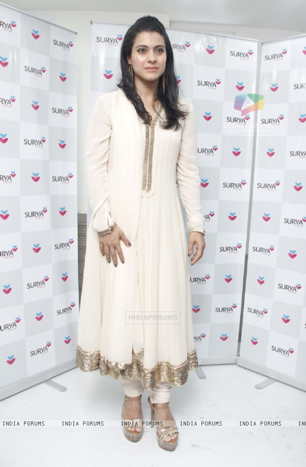 Kajol at the launch of NICU at Surya Child Care Hospital