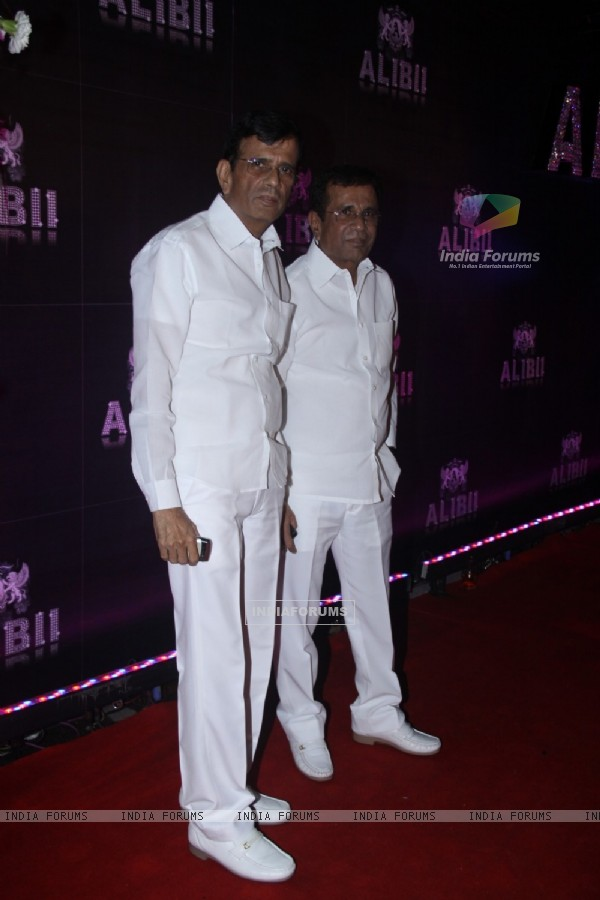 The men in white- Abbas-Mustan at the party