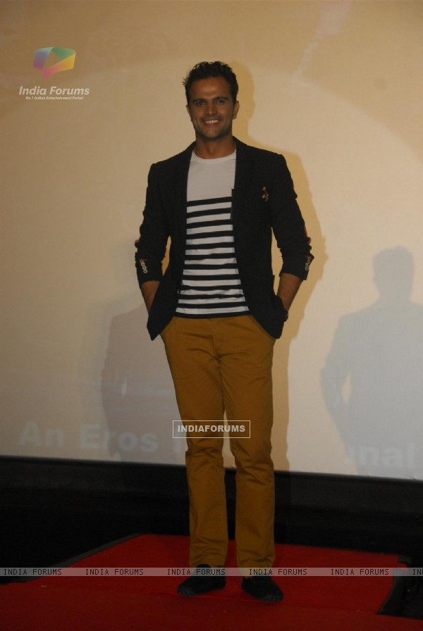 Jitin Gulati during the trailer launch and first look of upcoming 3D film Warning